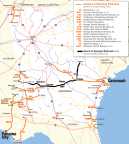 Genesee & Wyoming Inc. announced today that it has agreed to acquire the Heart of Georgia Railroad. (Graphic: Business Wire)