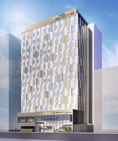 Rendition of Hotel JAL City Nagoya Nishiki (Graphic: Business Wire)