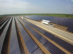 The Sena 1 solar installation is one of four solar farms included in a group of power generation assets completed across the Ayutthaya and Pathum Thani provinces in Thailand by Prime Road Group. First Solar, Inc. supplied 18MW of thin film PV modules for the projects. (Photo: Business Wire)