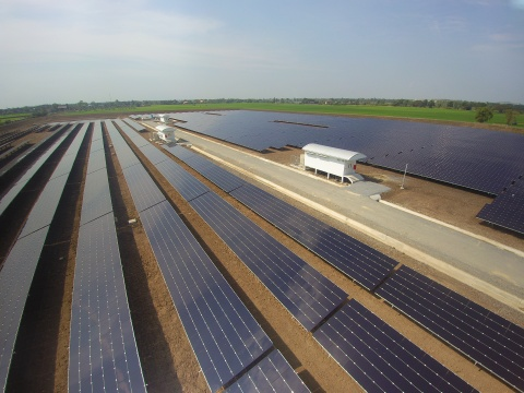 The Sena 1 solar installation is one of four solar farms included in a group of power generation ass ...