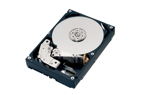 "Toshiba: 8TB HDD for NAS Applications /""MN Series"" (Photo: Business Wire)"