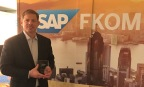 Randy Collins, SAP North America Alliance lead for Accenture, accepts the SAP North America Southwest Region Partner of the Year 2017 (Photo: Business Wire)