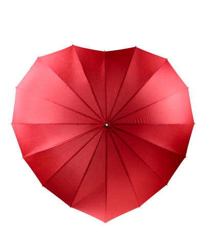 Shop Macy's for loveable items for all this Valentine's Day - Heart Umbrella, $28 (Photo: Business Wire)