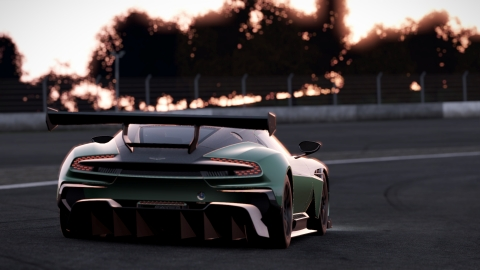 Aston Martin Vulcan at Fuji Speedway (Photo: Business Wire)