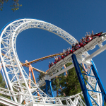 The New Revolution Galactic Attack at Six Flags (Photo: Business Wire)