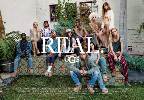 New SS17 UGG® campaign features a collective of authentic Californians who live lives that express the diversity, spirit and core values of the brand. (Photo: Business Wire)