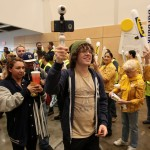 Customers enter the New IKEA Burbank during today's Grand Opening celebrations. (Photo: Business Wire)