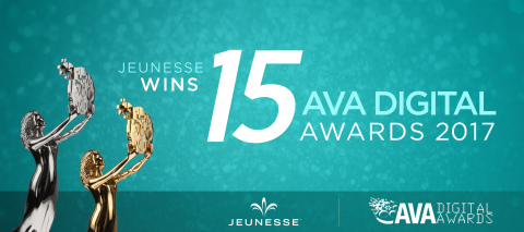 Jeunesse Honored for Digital Communications (Photo: Business Wire)