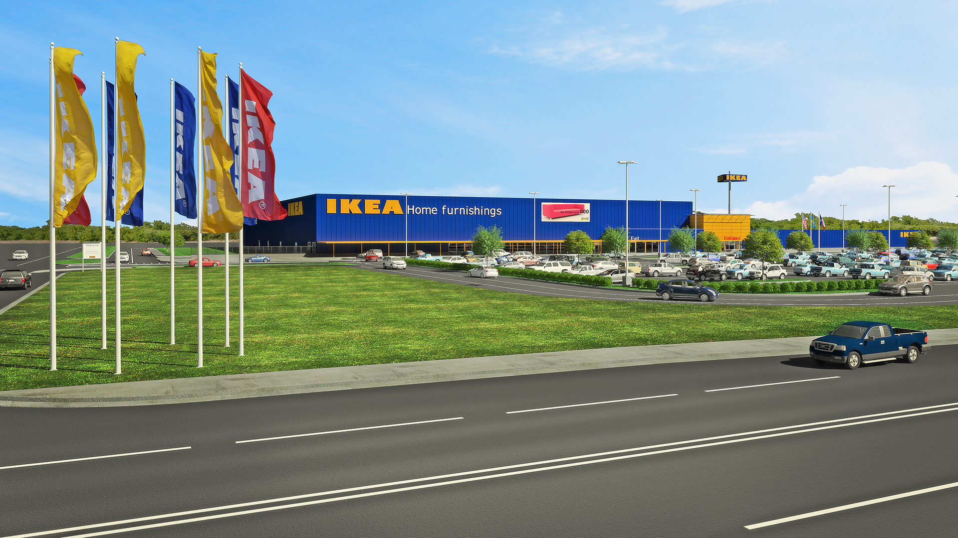 IKEA Proposes Plans for Fort Worth Store to Open Summer 2019 as Third Dallas-Fort Worth-Area IKEA Store and Sixth in State (Graphic: Business Wire)