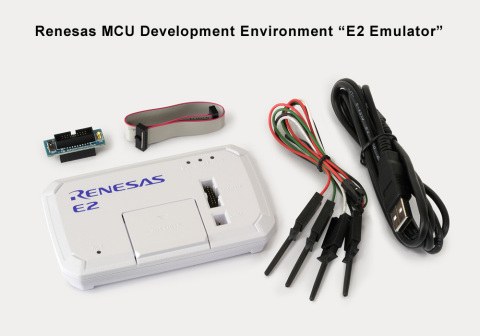 "Renesas Electronics MCU Development Environment ""E2 Emulator"" (Photo: Business Wire)"