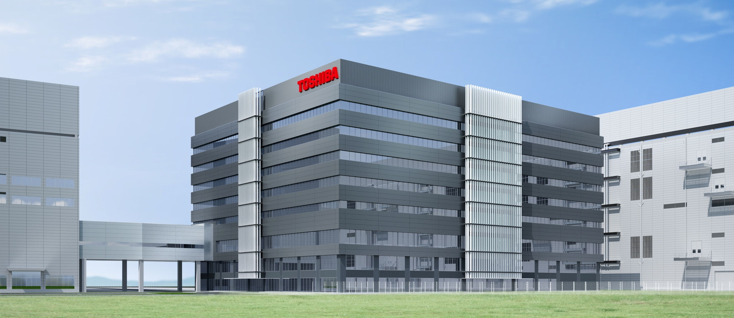 Artist's impression of the Memory R&D Center, Yokkaichi Operations (Graphic: Business Wire)