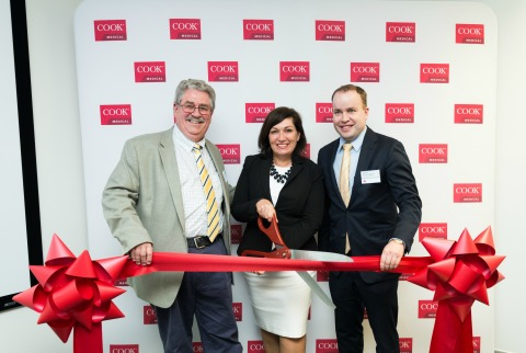 Official Opening of Asia pacific Commercialisation and Development Centre - Cook Medical Australia (Supplied by Cook Medical Australia)