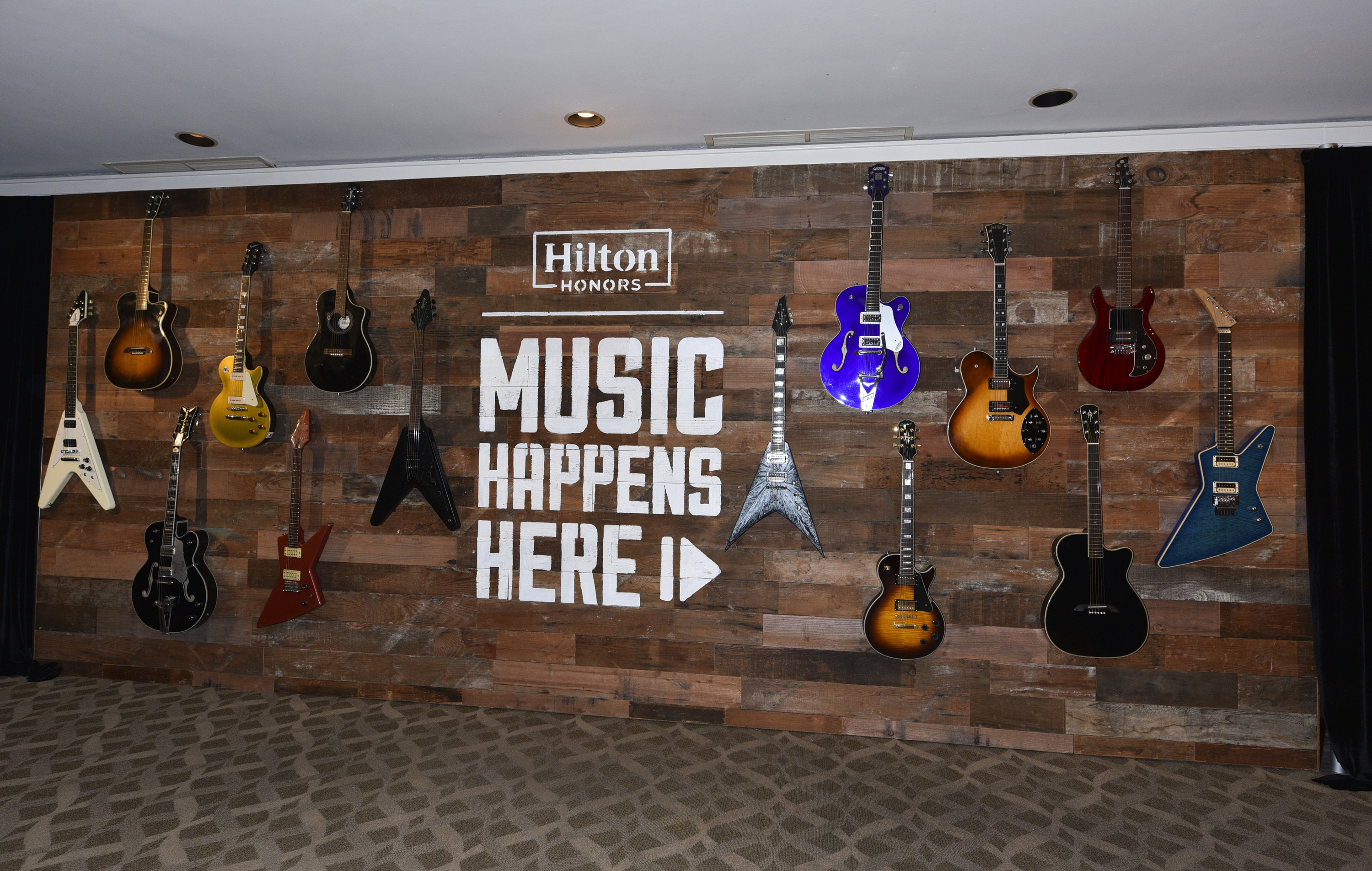 "Hilton Launches ""Music Happens Here,"" a First of its Kind Integrated Music Program, With Exclusive OneRepublic Concert Just for Hilton Honors Members (Photo: Business Wire)"