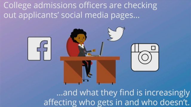 Kaplan Test Prep's latest survey of more than 350 colleges from across the United States shows social media's impact on applicants' admissions chances.