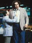 "Vince McMahon interviewing ""Andre the Giant"" (Photo:Business Wire)"