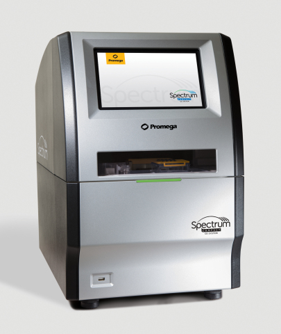 Promega Corporation has announced the development of a benchtop capillary electrophoresis (CE) instrument in collaboration with Hitachi High-Technologies Corporation. The Spectrum Compact CE System meets small batch and single sample needs in DNA analysis and performs both sequencing and fragment analysis at a moment's notice, allowing scientists to perform efficient DNA analysis right at their bench. (Photo: Business Wire)