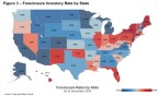 Foreclosure Inventory Rate by State as of December 2016 (Graphic: Business Wire)
