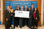 Oak Cliff nonprofit The Business Assistance Center was presented with a $21,000 grant through the Partnership Grant Program from FHLB Dallas and Comerica Bank today. (Photo: Business Wire)