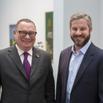 Paul Kasmin, owner of Paul Kasmin Gallery, and Rob Weisberg, CEO of Invaluable, announce the appointment of Paul Kasmin to Invaluable's Advisory Board. (Photo: Business Wire)