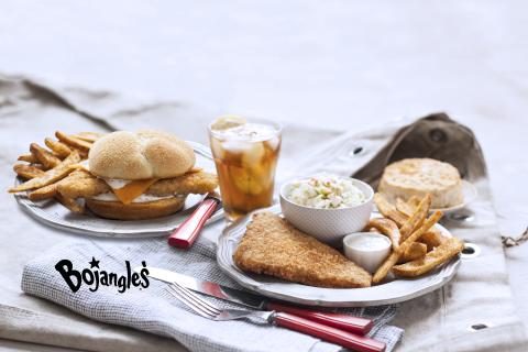 Reel in the Bojangles' BojAngler fish sandwich or dinner platter for a limited time. (Photo: Bojangles')