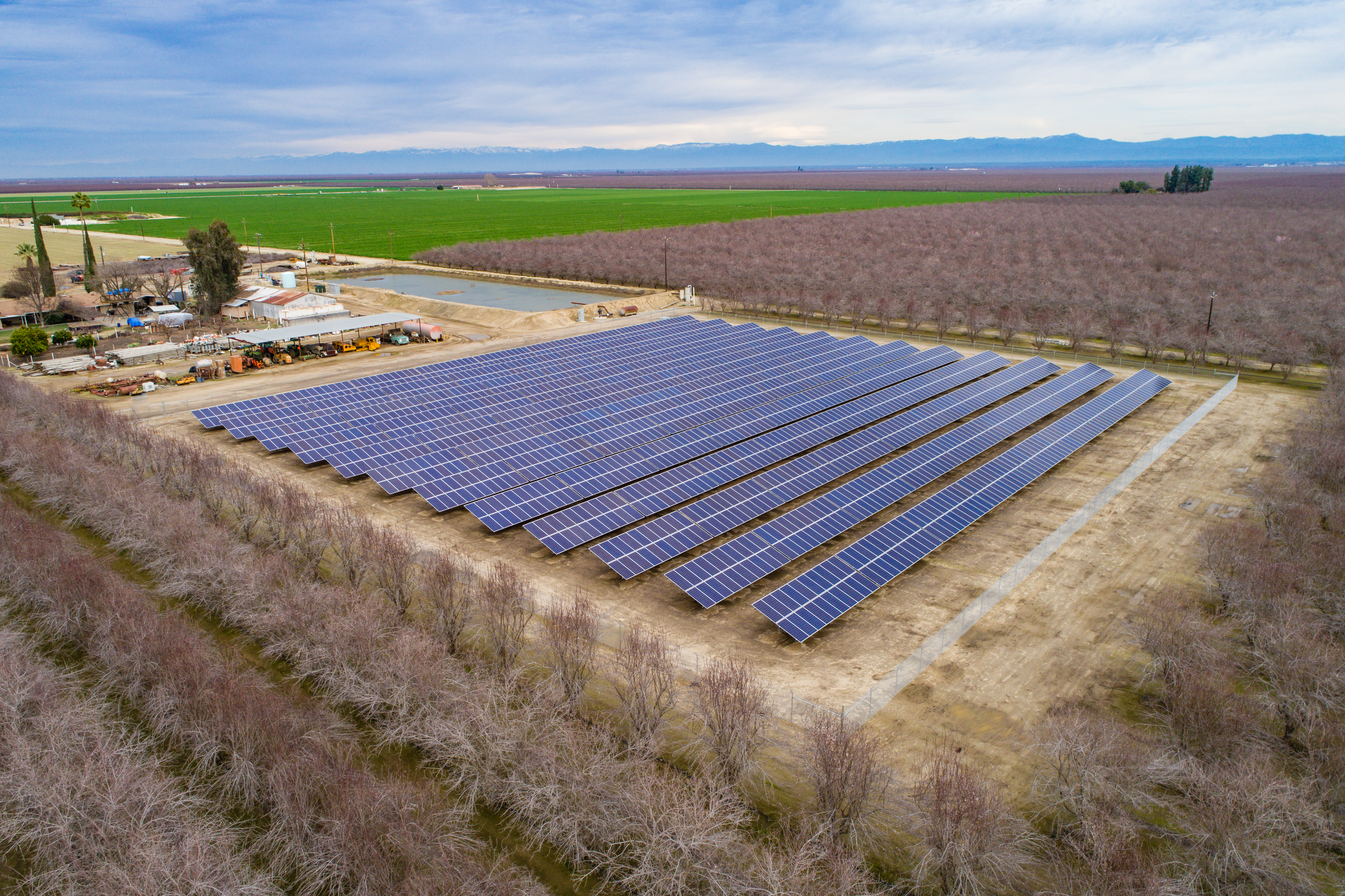 669 kW GeoPro Ground Mount Fixed-Tilt Solar System in Wasco, CA out of Kern County. (Photo: Business Wire)