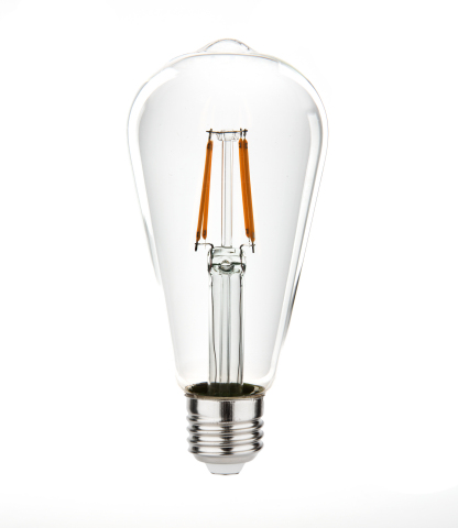 LED filament bulb (Photo: Business Wire)