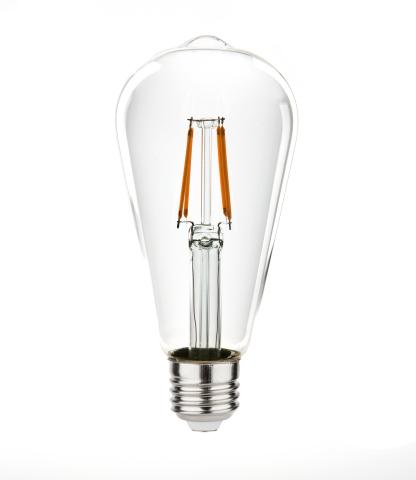 LED-Filament-Glühbirne (Photo: Business Wire)