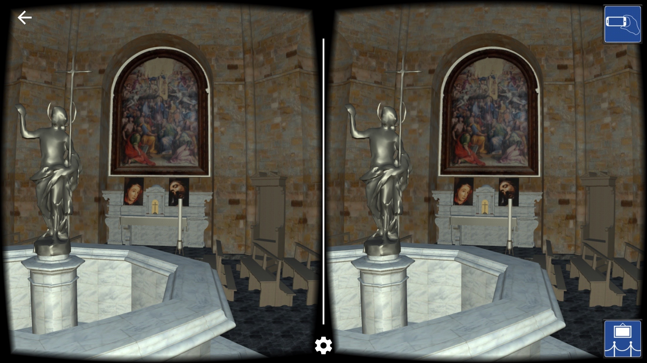 A model of the Baptistry in Volterra, Italy, created in Revit from laser scans created onsite. Model by Paul F. Aubin, www.paulaubin.com. (Photo: Business Wire)