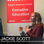 """Chris Avore, Associate Vice President and Global Head of Product Design at NASDAQ, leads the """"Customer-Centric Organizational Leadership and Transformation"""" session in the Mini-MBA Certificate Program Offered by Rutgers Business School Executive Education."""