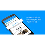 Unsubscribe from junk in one tap with Email by EasilyDo for Android. (Photo: Business Wire)