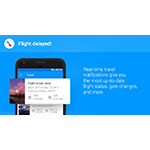 Real-time travel notifications in Email by EasilyDo for Android. (Photo: Business Wire)