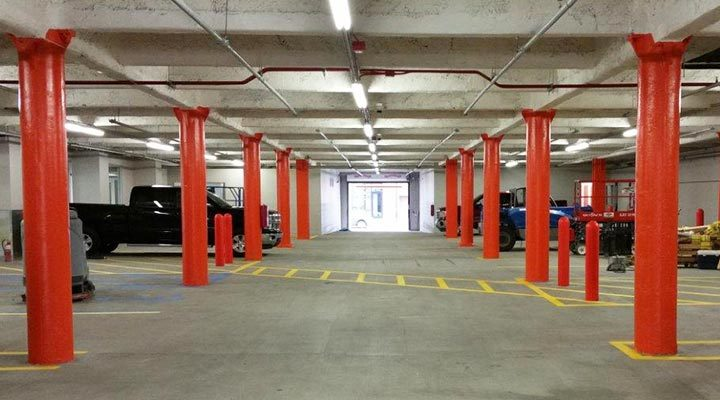The new Public Storage at 133 2nd Street, Jersey City, NJ has easy underground parking at no cost to customers, and the historic location is close to several public transportation options. (Photo: Business Wire)