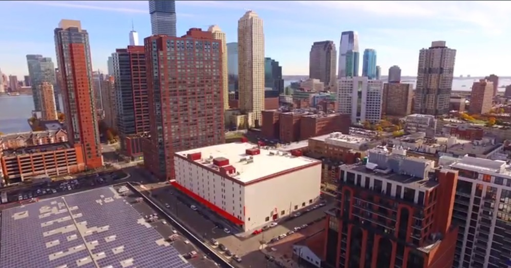 The newest Public Storage 133 2nd Street, Jersey City, NJ will house more storage units than any other Public Storage property to date in hopes of assisting the growing number of residents and commuters in small spaces. (Photo: Business Wire)