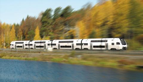 Stadler train (Photo: Business Wire)