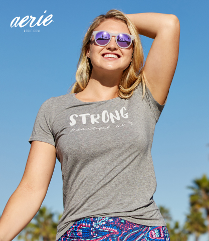Aerie's Strong, Beautiful, Me Initiative Continues to Raise Awareness & Body Positivity (Photo: Busi ...