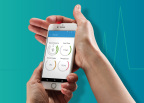 LMD's Medically Accurate Smartphone Integrated Health Sensor and App (Photo: Business Wire)