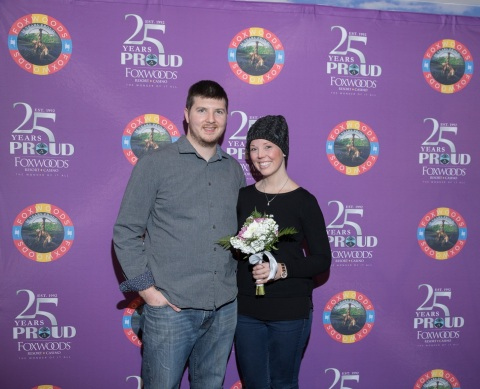 Foxwoods Resort Casino Announces Winning Couple of Dream Wedding Giveaway (Photo: Business Wire)
