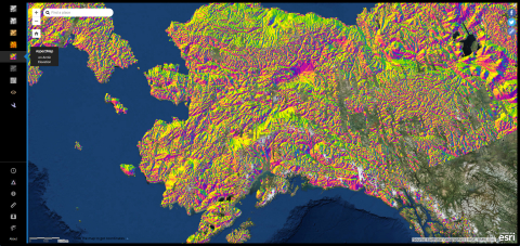 Esri, the global leader in spatial analytics, together with the ArcticDEM project—a public-private initiative to produce high-resolution, high-quality digital elevation models (DEM) of the Arctic—has released the largest addition of new elevation models to the project thus far. (Graphic: Business Wire)