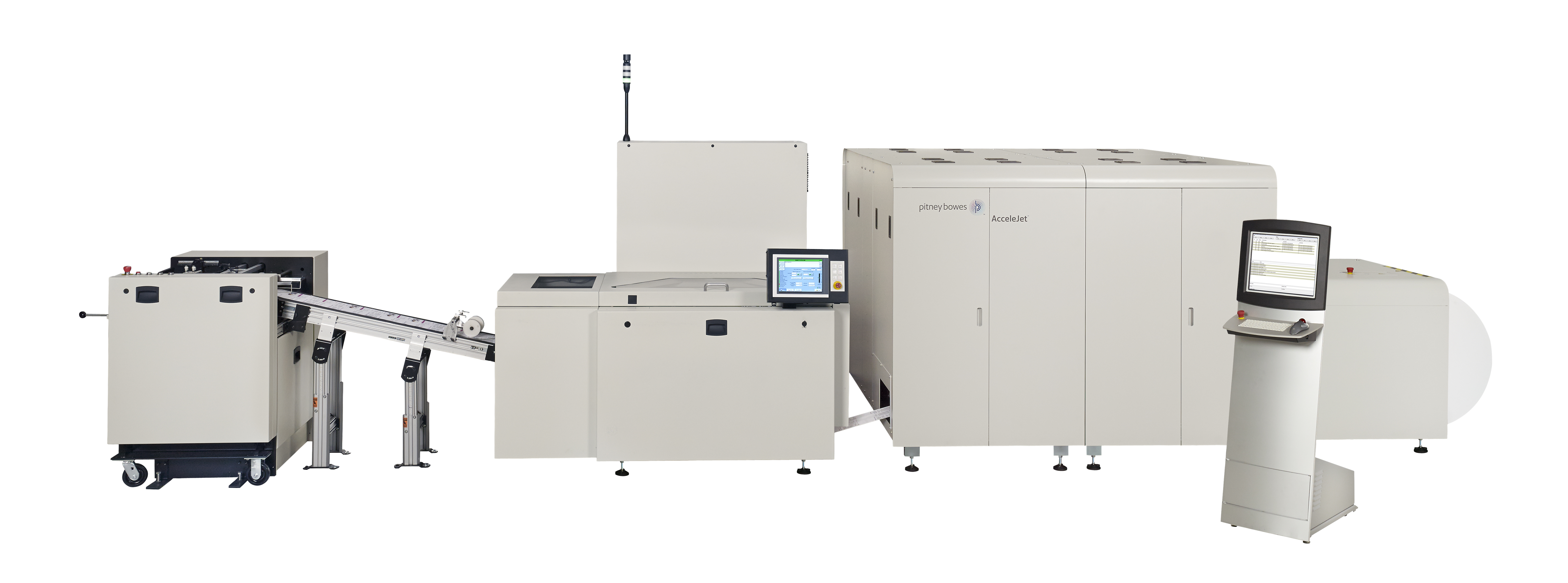 Billing Software Provider AVR of Houston, Texas Expands Print Operation with Pitney Bowes AcceleJet Printing and Finishing System (Photo: Business Wire)