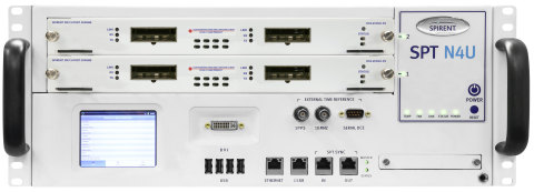 DX3-200GO-P2 in SPT-N4U chassis (Photo: Business Wire)