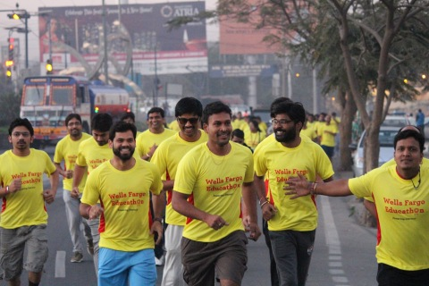 More than 2,000 team members of Wells Fargo Enterprise Global Services (EGS) India participated in t ...