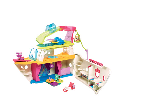 LITTLEST PET SHOP CRUISE SHIP Playset (Ages 4 years & up/Approx. Retail Price: $39.99/Available: Fall 2017) (Photo: Business Wire)