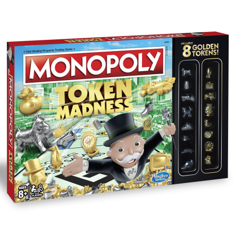 MONOPOLY TOKEN MADNESS Edition Game (Ages 8 years & up/ Players 2-4/ Approx. Retail Price: $19.99/ Available: Spring 2017) (Photo: Business Wire)