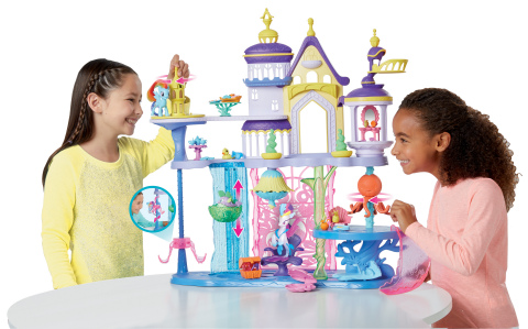 MY LITTLE PONY: THE MOVIE CANTERLOT & SEAQUESTRIA CASTLE Playset (Ages 3 years & up/Approx. Retail Price: $99.99/Available: Fall 2017) (Photo: Business Wire)