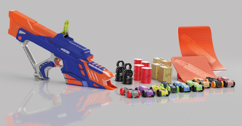 NERF NITRO MOTOFURY RAPID RALLY Set (Ages 5 years & up/Approx. Retail Price: $49.99/Available: Fall 2017) (Photo: Business Wire)