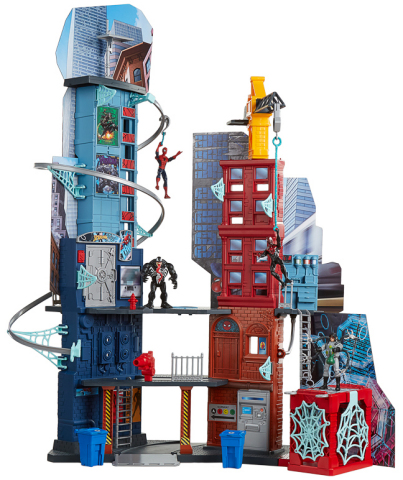 MARVEL SPIDER-MAN MEGA CITY PLAYSET (Ages 4 years & up/Approx. Retail Price: $99.99/Available: Fall 2017) (Photo: Business Wire)