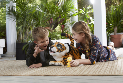 FURREAL ROARIN' TYLER, THE PLAYFUL TIGER Pet (Ages 4 years & up/Approx. Retail Price: $129.99/Available: Fall 2017) (Photo: Business Wire)