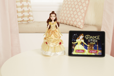 DISNEY PRINCESS: DANCE CODE BELLE Doll (Ages 5 years & up/Approx. Retail Price: $119.99/Available: Fall 2017) (Photo: Business Wire)