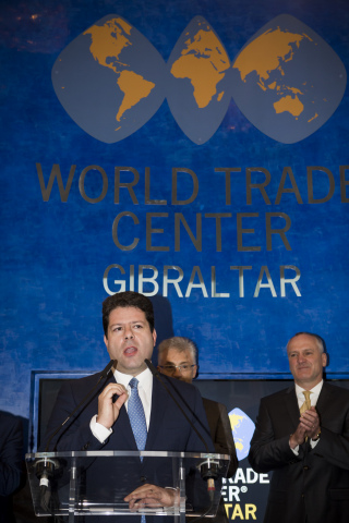 Commerce and Prosperity Focuses World Trade Center Gibraltar's Vision Ahead of Brexit (Photo: Busine ...