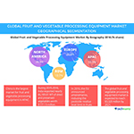 Global Fruit and Vegetable Processing Equipment Market Driven by Increase in Demand for Frozen Foods: Technavio